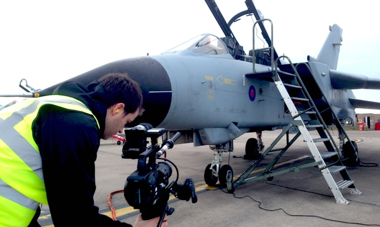 Thales GR4 Filming